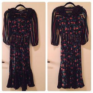 Vintage Betsey Johnson floral dress